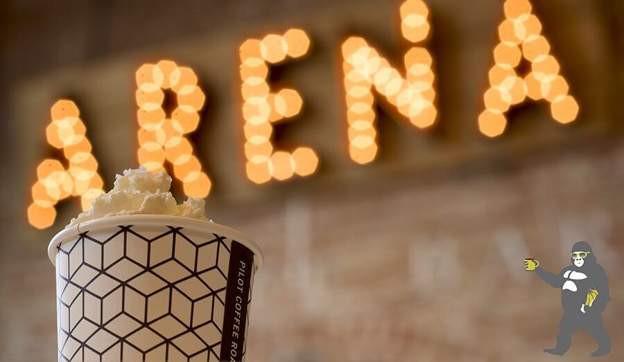 Arena Coffee has some of the best flavoured drinks in Toronto.