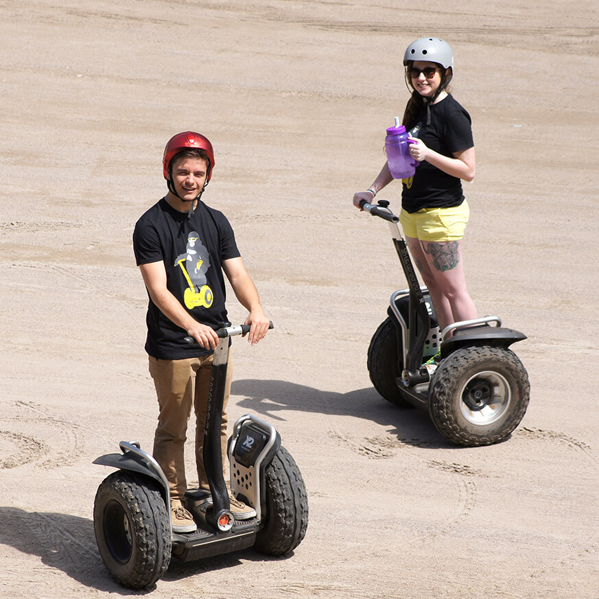 Go Tours Launches Offroad Segway Tour at Hardwood Ski and Bike