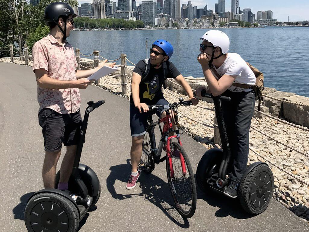 Go Tours Canada is at Ontario Place in 2018 for Segway Tours!