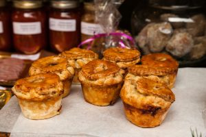 These pies at the Toronto Christmas Market look absolutely delicious!