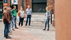 Experience a Walking Tour of the Distillery District with Go Tours Canada. Customized for groups of all sizes, book yours today.