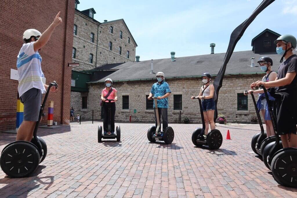 Distillery District Private Segway Tours 2020