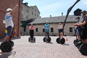 COVID-19: Distillery District Private Segway Tours
