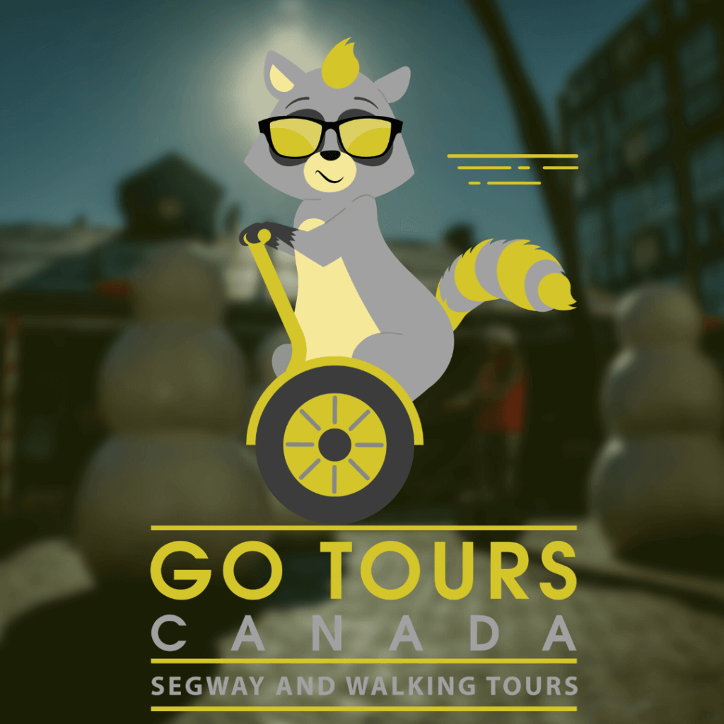 Meet Ryder Raccoon in 2021, the new Go Tours Canada mascot!