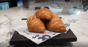 Enjoy fresh-baked French style croissants at Cluny Cafe and Boulangerie in the Distillery District.