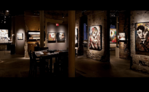 Get intimate with Quebec's finest artists at Thomspon Landry Gallery in the Distillery District.